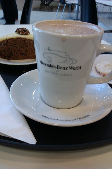 hot chocolate at merc world