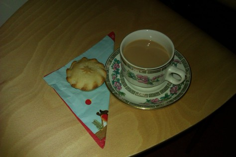 My first mince pie of the season