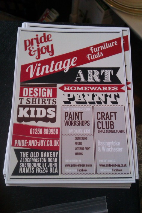 Pride and Joy vintage shop