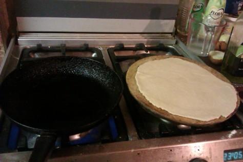 frying pan base
