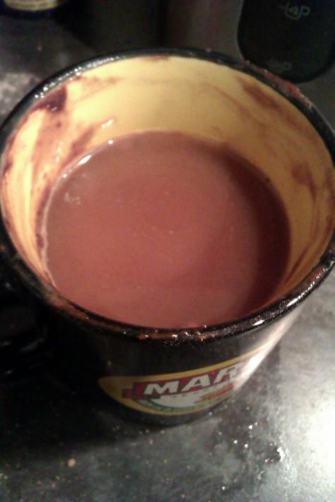 saucy mug cake