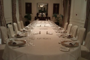 The Ballroom dining table