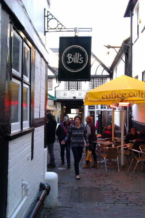 bills restaurant sign guildford