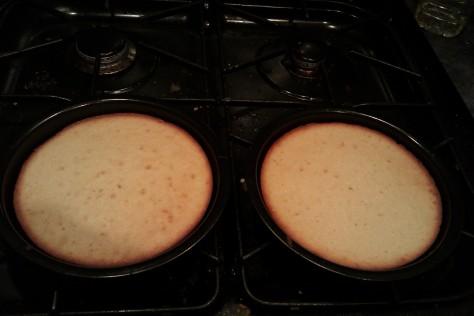 double white cake