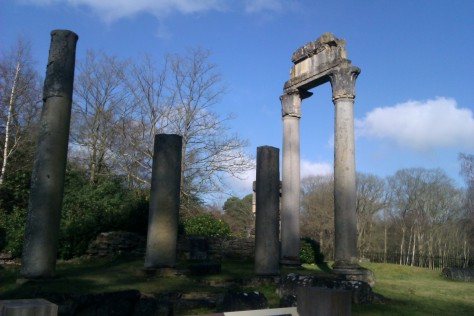 the ruins at windsor great park