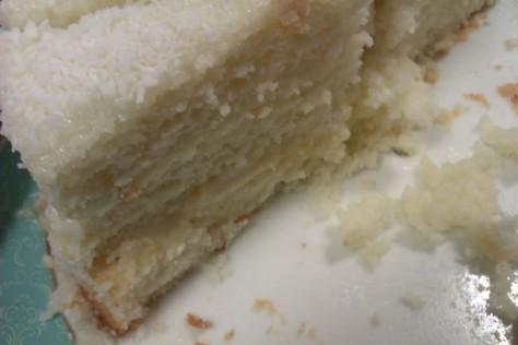 snowball white cake