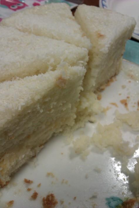 my white cake