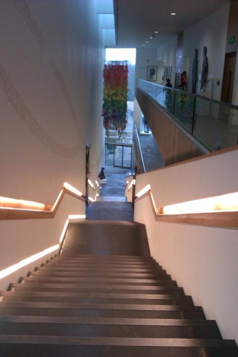 lightbox stairs