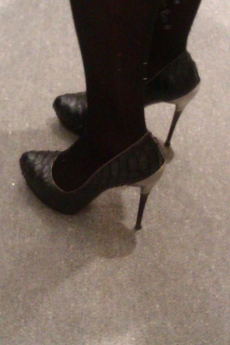 ferragammo steel heels