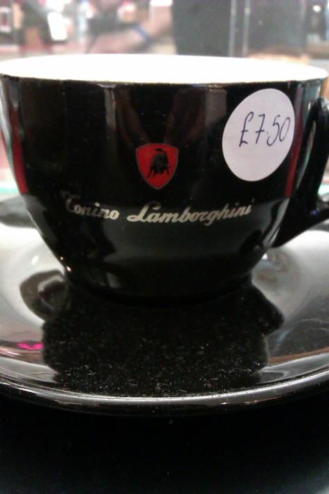 lamborghini cup and saucer