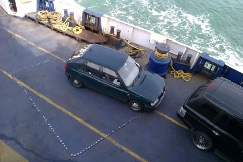 sea and my car