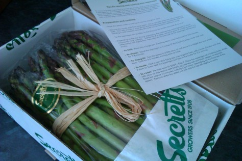 secretts asparagus delivered