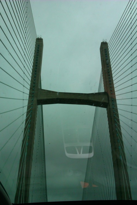 Severn suspension bridge