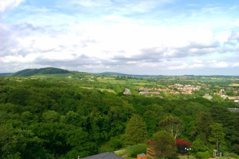golf course view celtic manor