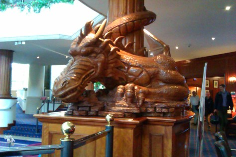 welsh dragon celtic manor