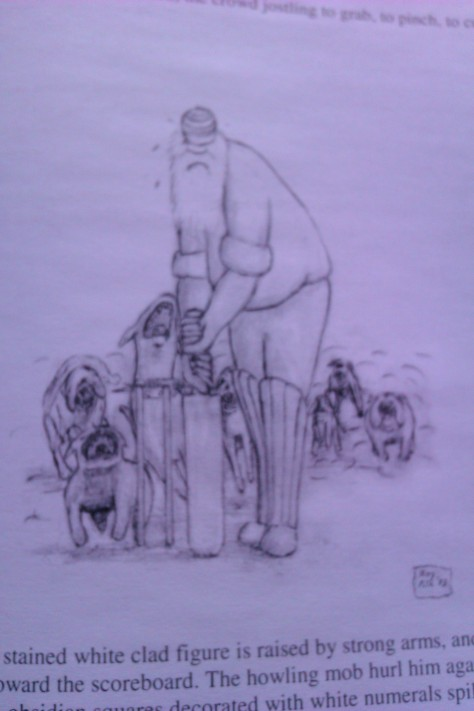franklin marsh wicket man