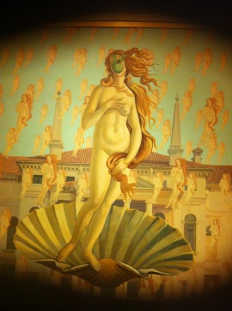 caesars palace birth of venus