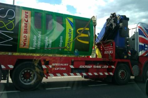 petrol price on lorry