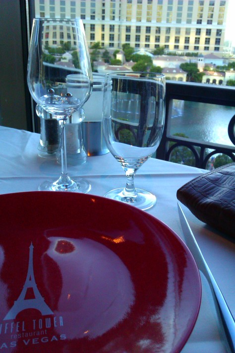 dinner at paris hotel