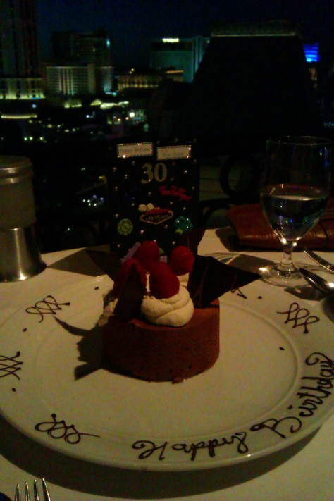 dessert with fountains