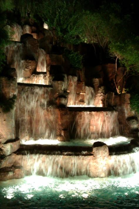 wynn waterfall