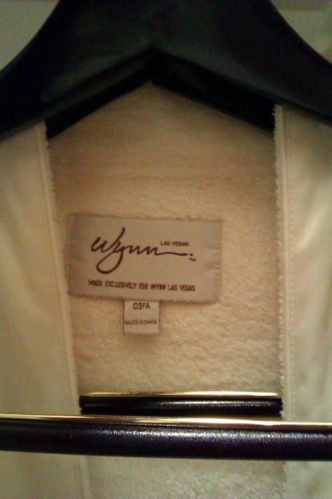 wynn dressing gown cosy