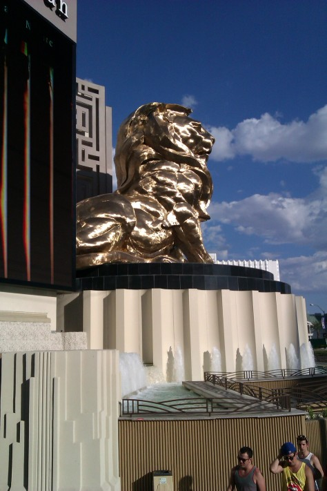mgm lion vegas david copperfiled