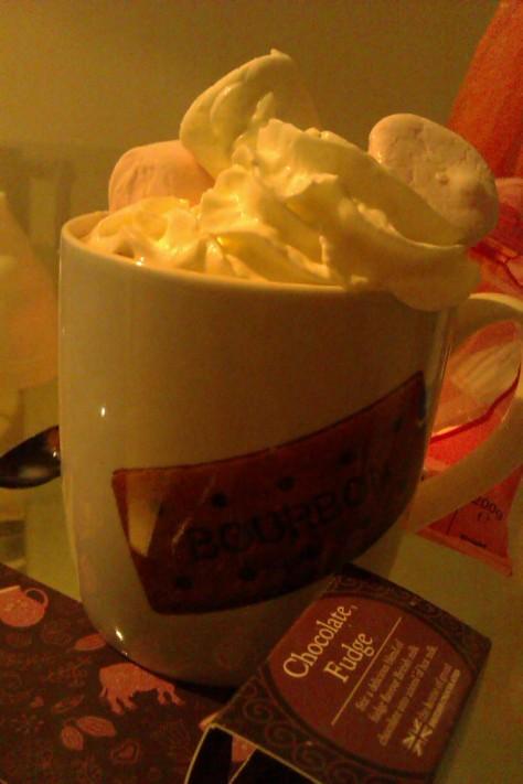 bourbon cream mug