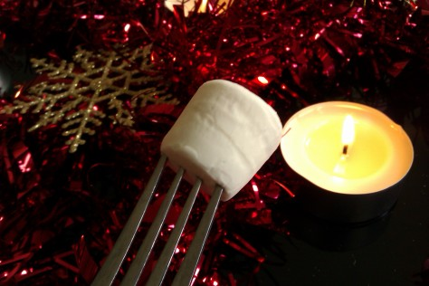 marshmallow candle toast