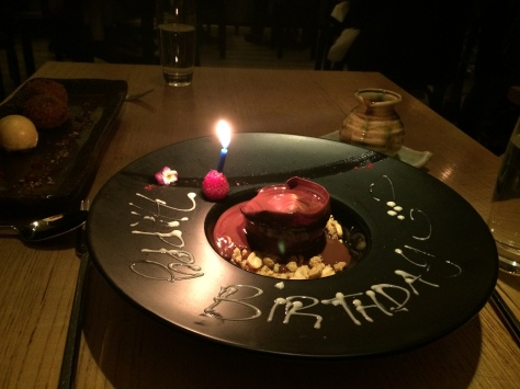 Happy Birthday at Nobu