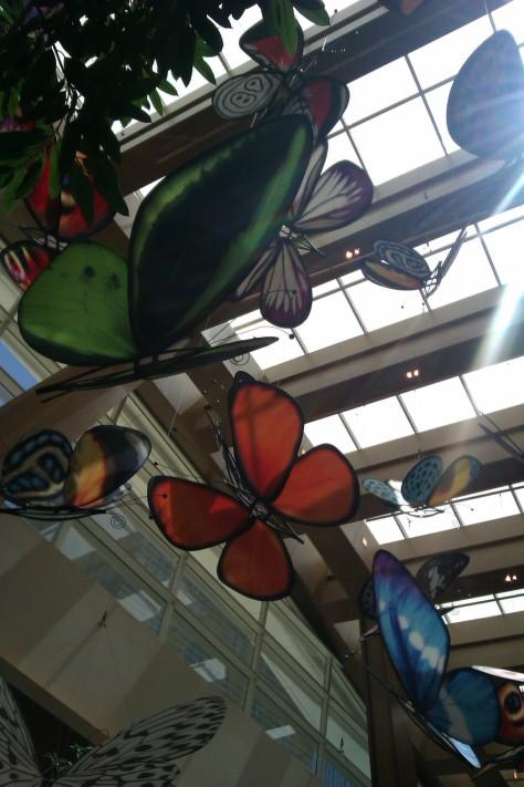 butterflies las vegas aria