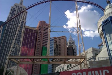 rollercoaster new york new york las vegas