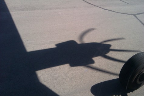 propellor shadow