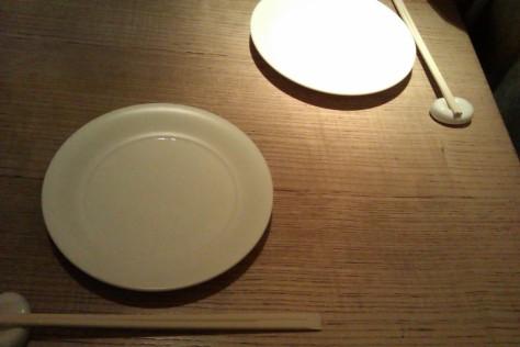 plates and chopsticks