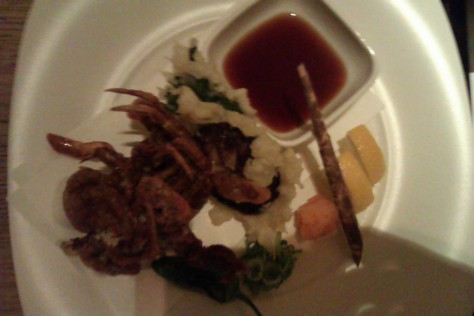 Soft Shell Crab Kara-age with Ponzu