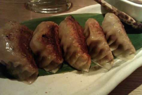 Wagyu Gyoza with Tosazu