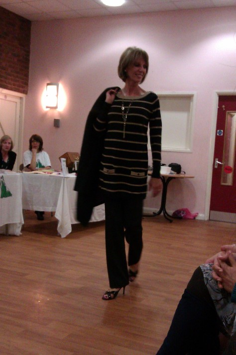 frimley fashion show - natutical