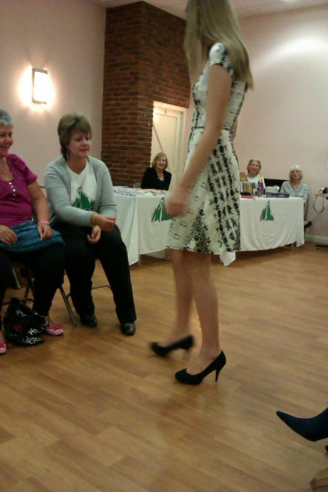 frimley fashion show - summery dress