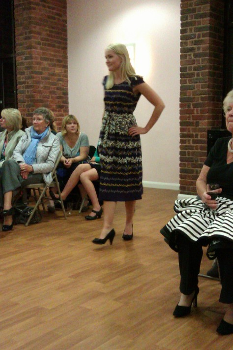 frimley fashion show - nice dress