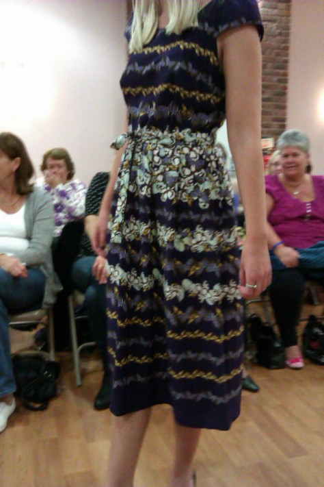 frimley fashion show -dress
