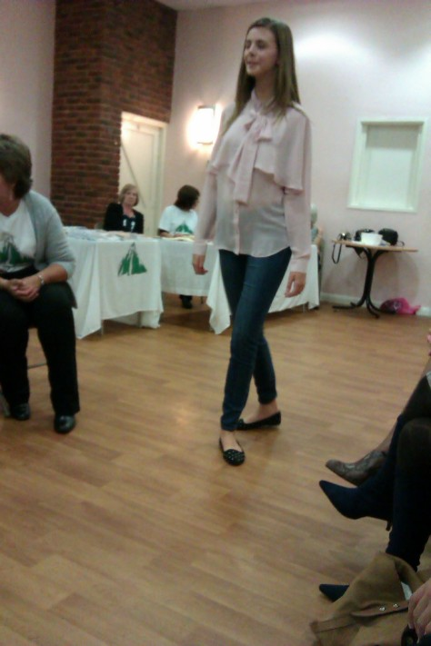 frimley fashion show - blouse