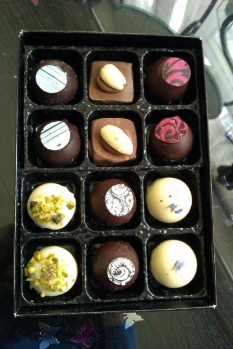 box of chocolates by miss witt