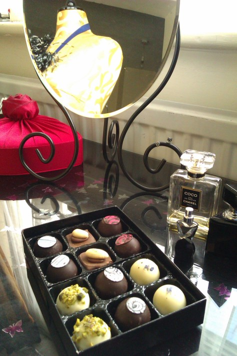 dressing table chocolates