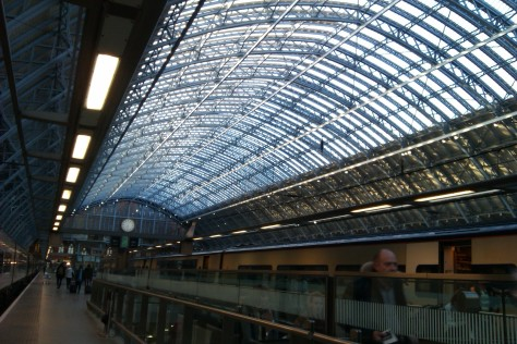 kings cross international platform