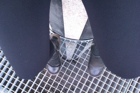 military boots at palais royal