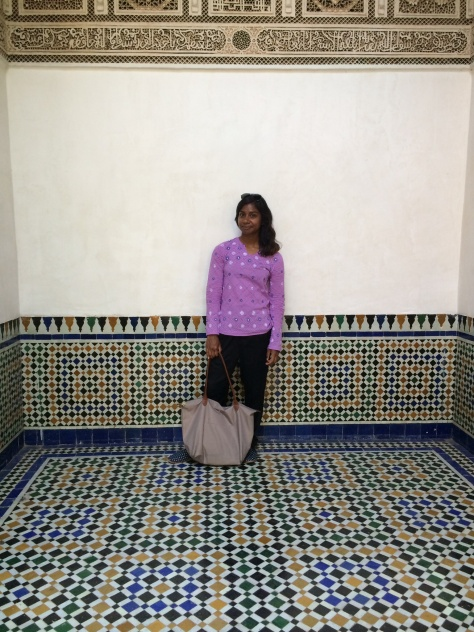 Sharmeen Khan morocco