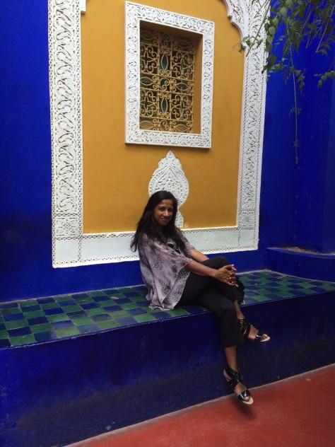 Majorelle Gardens sister nasreen