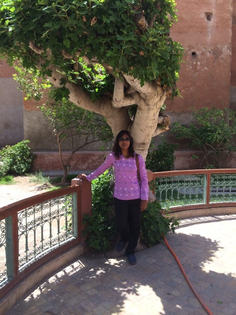Sharmeen at Saadian Tombs