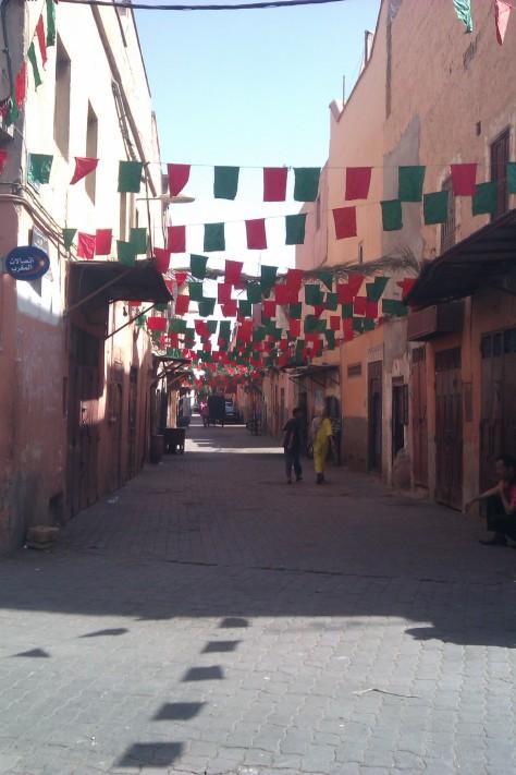 moroccan colours