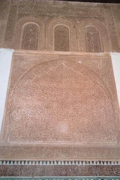 saadian tombs marakech
